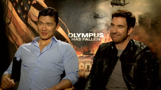 Dylan McDermott and Rick Yune on Olympus Has Fallen and American Horror Story