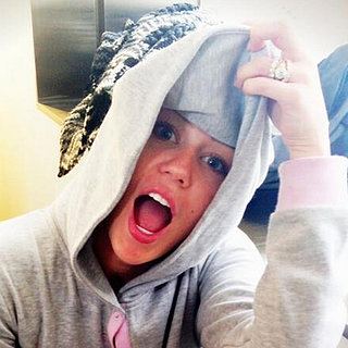 Miley Cyrus With Her Engagement Ring | Pictures