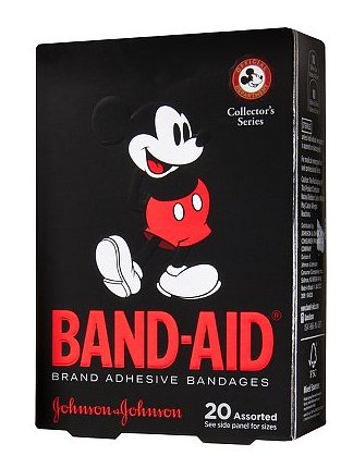 Believe us, these adorable Johnson & Johnson Mickey Mouse band-aids ($3) will come in handy when the blisters start to appear . . .