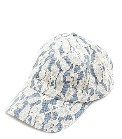 Swap out your tried-and-true fedora for something sportier, like this Charlotte Russe lace cap ($10).