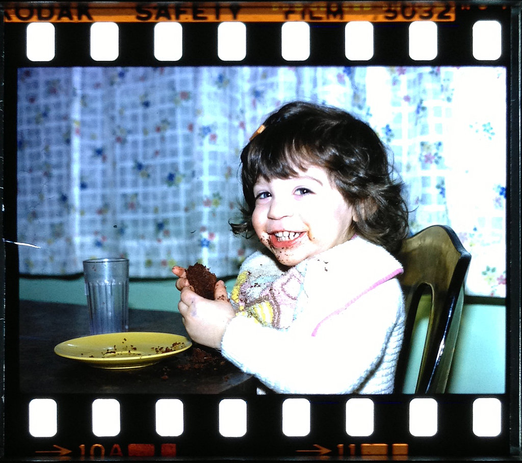 """Me at 2 years old. Definitely inherited my sugar tooth early."" —  Jenny Sugar, contributing editor, POPSUGAR Fitness"
