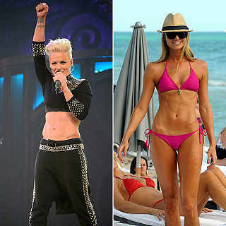 How to Get Pink's Abs
