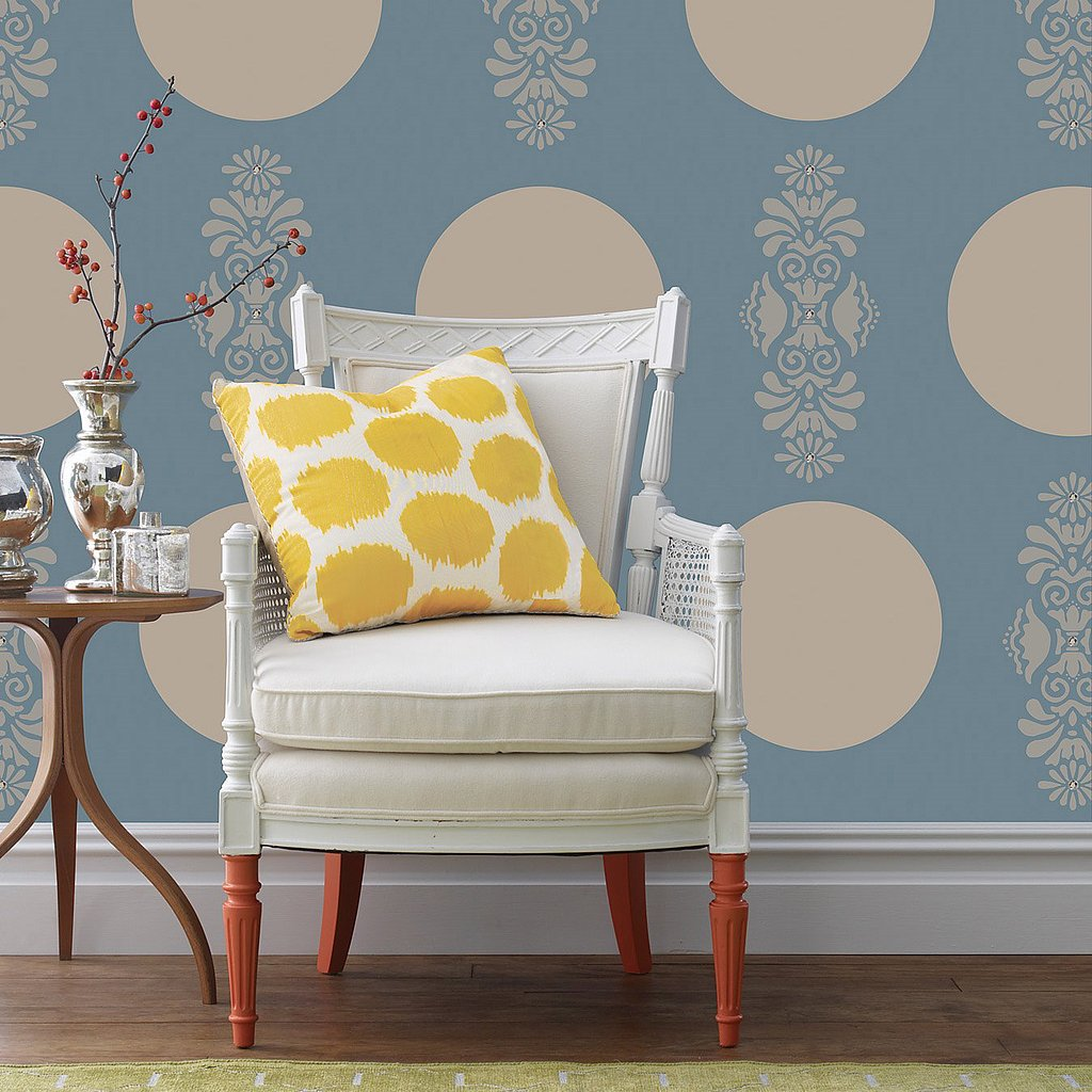 Easily switch up the look in one of your rooms with these removable dot wall decals ($15 for five).
