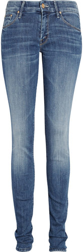 Mother The Looker low-rise skinny jeans