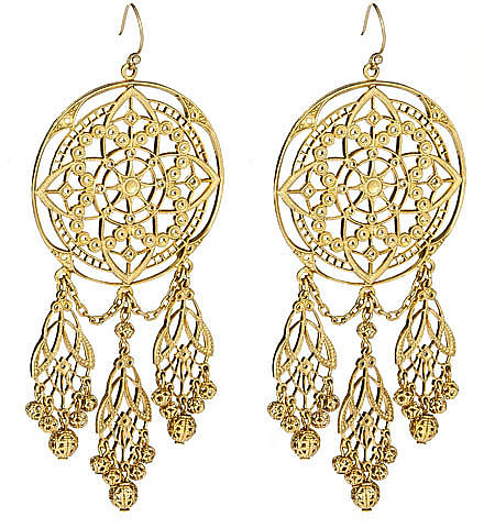 Ben Amun Dream Catcher Earrings