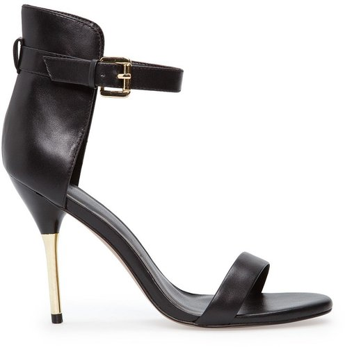 TOUCH - Metallic heel sandals