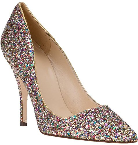 KATE SPADE Licorice Evening Pump Multi Glitter