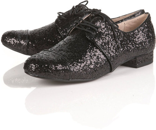 VENUS Glitter Lace Up Brogues
