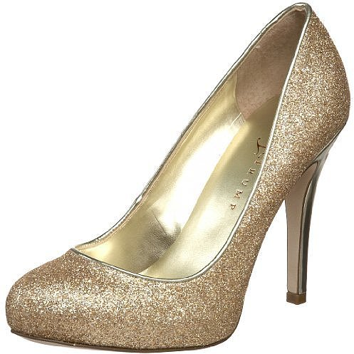 Ivanka Trump Women&#039;s Pinki Hidden Platform Glitter Pump