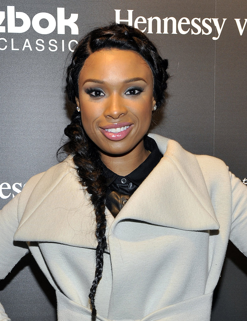 Conjoined braids, like Jennifer Hudson's here, are a popular trend that keeps the hair off your face and neck. Oh, and it looks gorgeous, too.