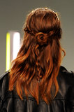 Rodarte's rocker braids are a fun alternative to a typical half-updo.