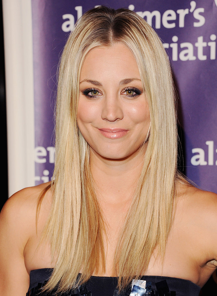 Kaley Cuoco Pairs Up With Her Big Bang Theory Castmates at Sardi's Bash