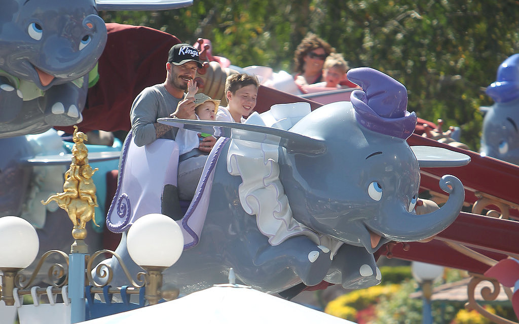 The Beckhams: Staying Sane at Disney