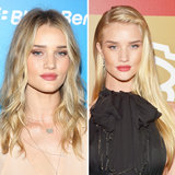 Rosie Huntington-Whitely Shoulder or Chest Length Hair?
