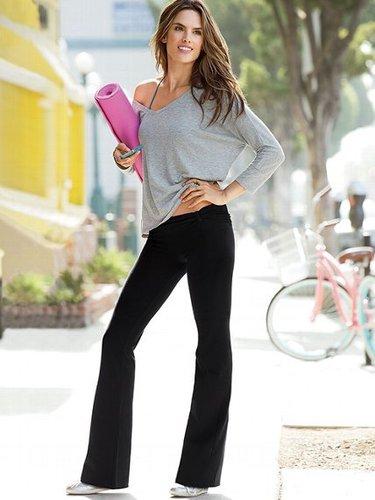Braided-waistband Yoga Pant