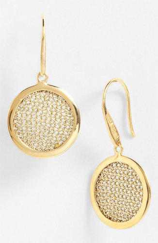 Adami & Martucci 'Mesh' Round Drop Earrings (Nordstrom Exclusive)