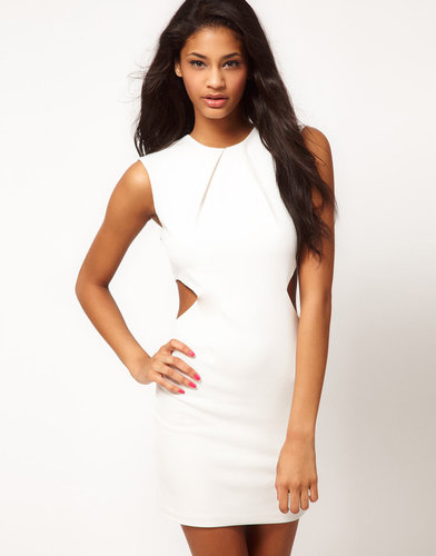 ASOS Body-Conscious Dress with Cut Out Sides