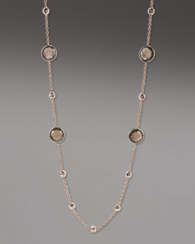 "Ippolita Rose Mini Lollipop Quartz Necklace, 37""L"