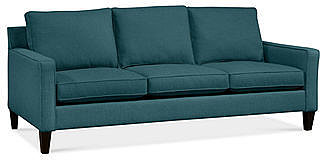 "Alanis Fabric Sofa, 81""W x 37""D x 34""H: Custom Colors"