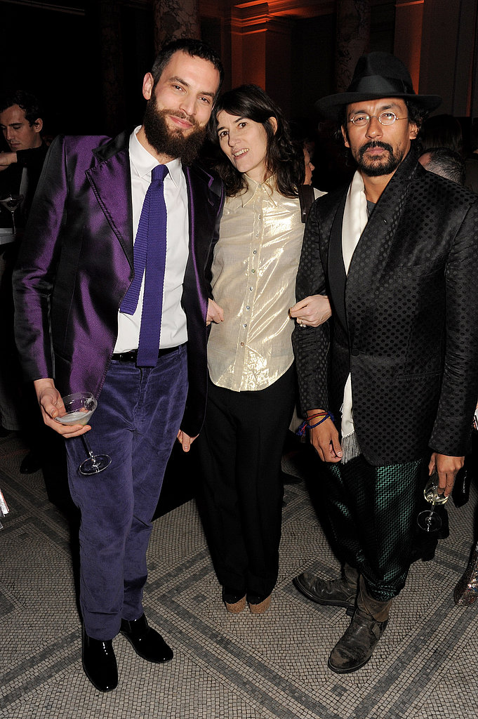 Sandro Kopp, Bella Freud, and Haider Ackermann