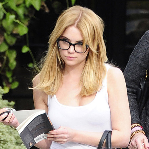 Ashley Benson Blond Hair 2013