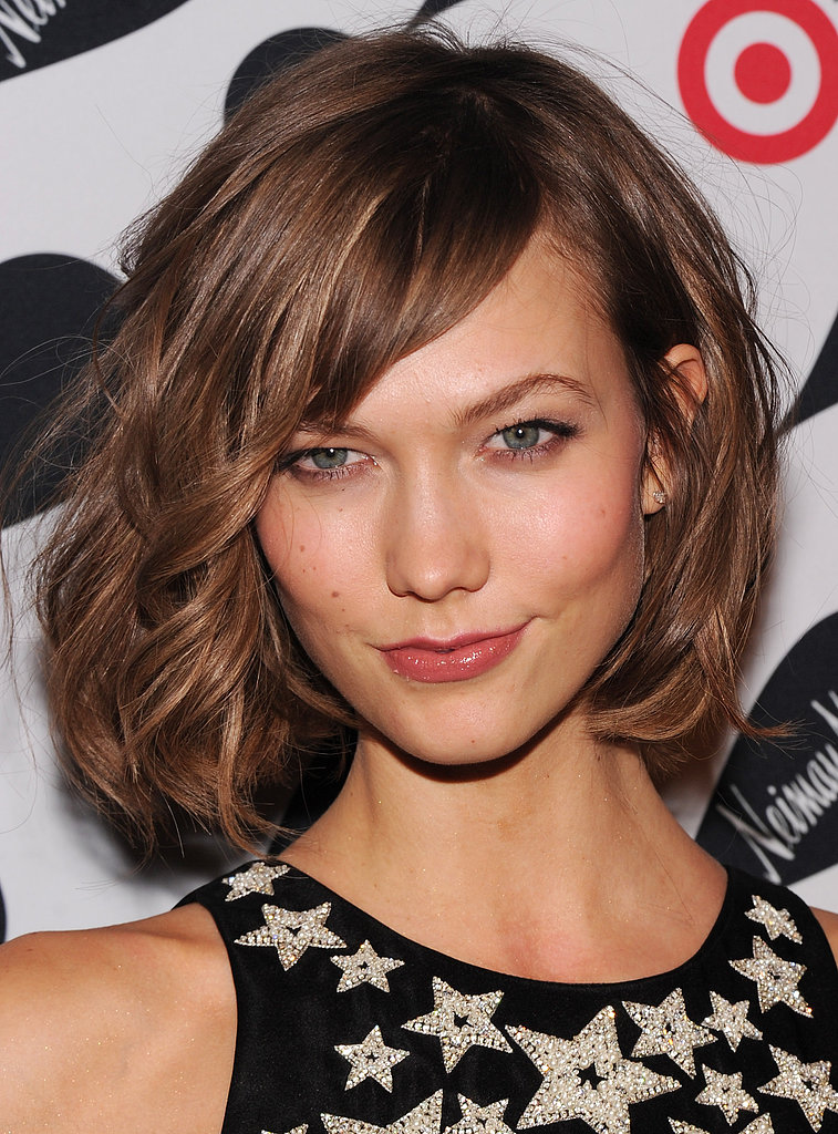 Karlie Kloss's long bob is on everyone's radar this season, but get even more celebrity lob inspiration before your next haircut.