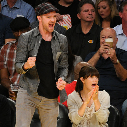 Pictures: Celebrities Sitting Front Row At Basketball Games