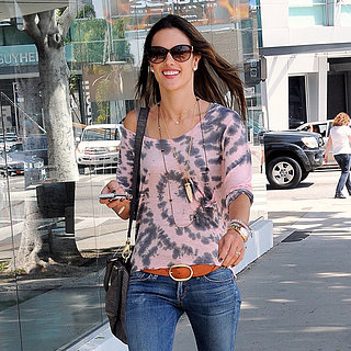 Alessandra Ambrosio Furniture Shopping in LA | Pictures