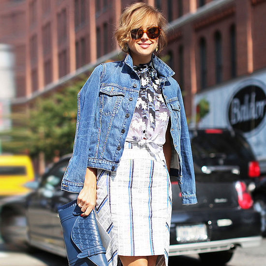 The denim jacket might be the perfect piece of Spring outerwear.