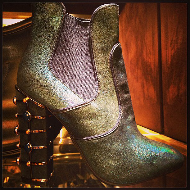 Do you love this iridescent bootie?