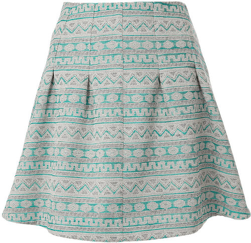 Aztec Stitch Skirt
