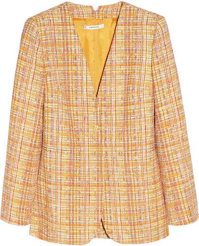 Carven Bouclé-tweed jacket