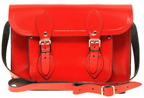 """Cambridge Satchel Company Exclusive To ASOS 11"""" Patent Leather Satchel"""