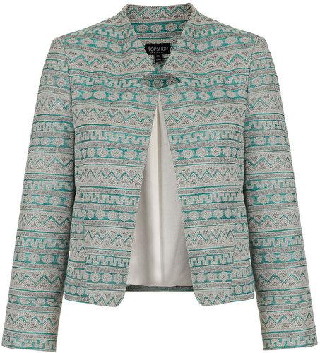 Aztec Notch Neck Jacket