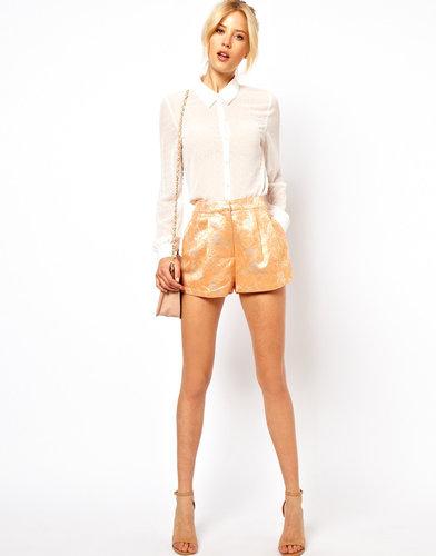 ASOS Shorts in Summer Jacquard