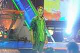 Justin Bieber got slimed during the 2012 show.