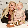 Pregnant Jessica Simpson Pictures With Maxwell, Ashlee, Eric