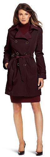 London Fog Women's Zina Trench Rain Coat