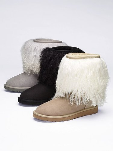 UGG Australia Furry-cuff Boot