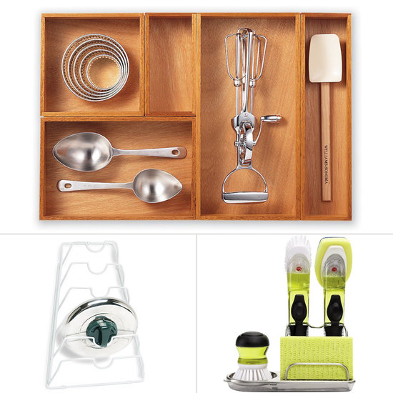 Kitchen organizing tools for clutter free convenience