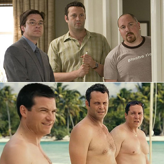 Jason Bateman, Vince Vaughn, and Jon Favreau