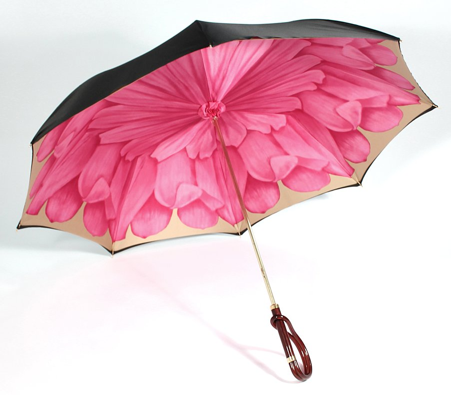 Illesteva's beautiful handmade floral umbrella ($250) is a true investment — and worth every rainy-day penny.