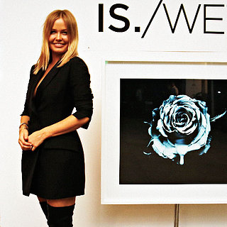 Lara Bingle steps Out for Vicki Lee's IS./WET Exhibition