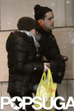 Scarlett Johansson and Romain Dauriac returned to their hotel.