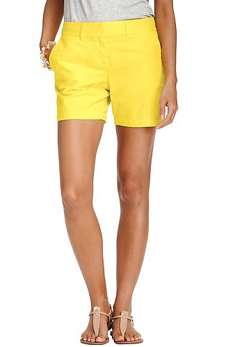 If you're more of a shorts girl, then add these Loft yellow cotton shorts ($40) to your Spring rotation. Wear them with heels or flats, depending on the look you're going for.