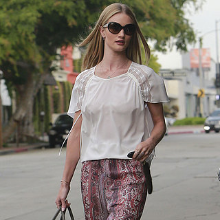 Rosie Huntington-Whiteley Wearing Isabel Marant Pants