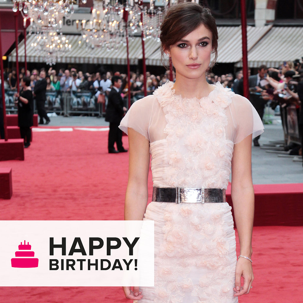 See Keira Knightley's Best Red Carpet Moments (Thus Far)