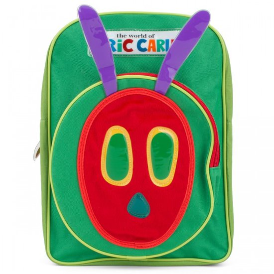 If your little bookworm loves Eric Carle's The Very Hungry Caterpillar, he or she is sure to fall for Rainbow's Hungry Caterpillar Backpack ($23).