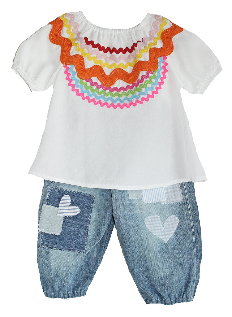 Ric Rac Peasant Blouse and Patchwork Pantaloons