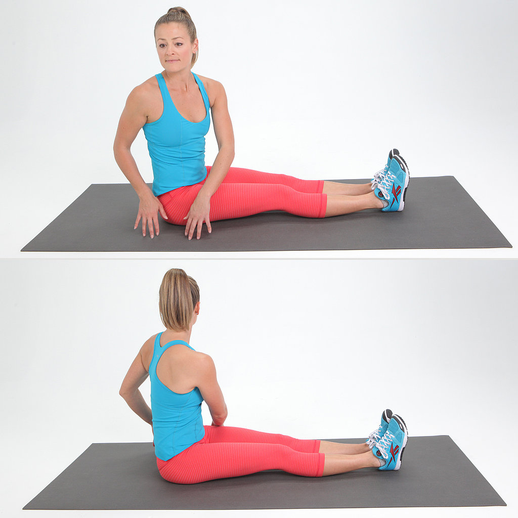 Core: Seated Trunk Twist
